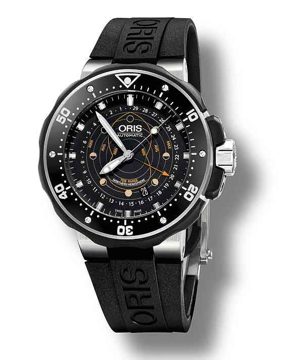 1ee9731f786 Best Oris ProDiver Pointer Moon Replica Watch - Cheap AAA Swiss ...