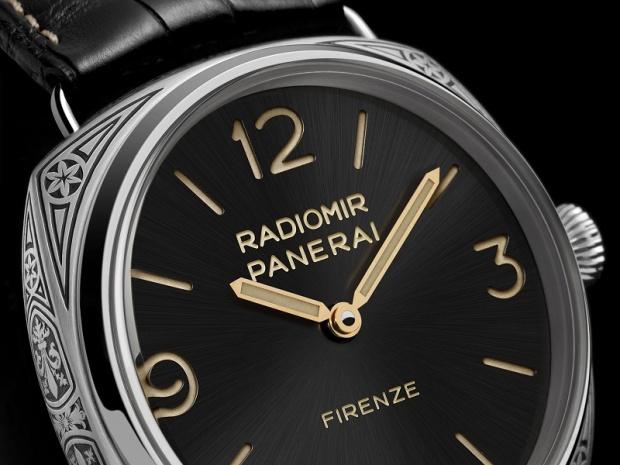 d27ff8b52e4 47mm Engraved Case Panerai Radiomir Firenze 3 Days Replica Watch ...