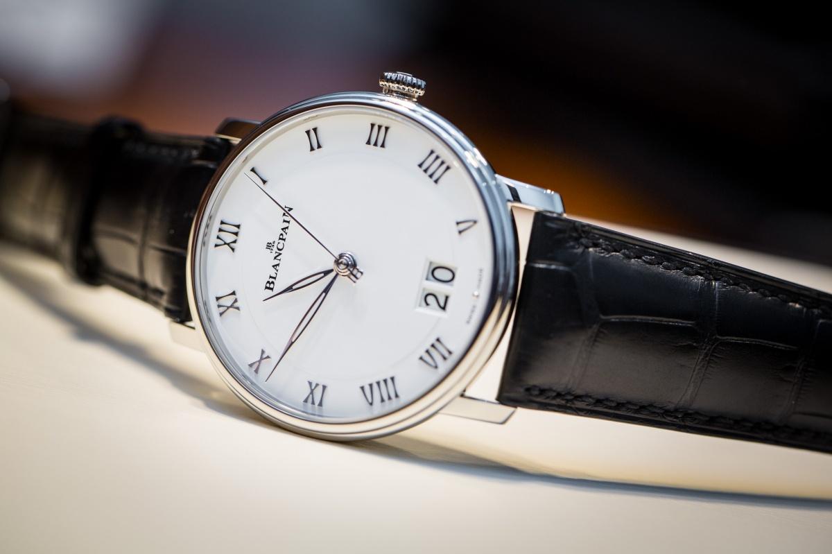 Blancpain Villeret Grande Date Replica Watch