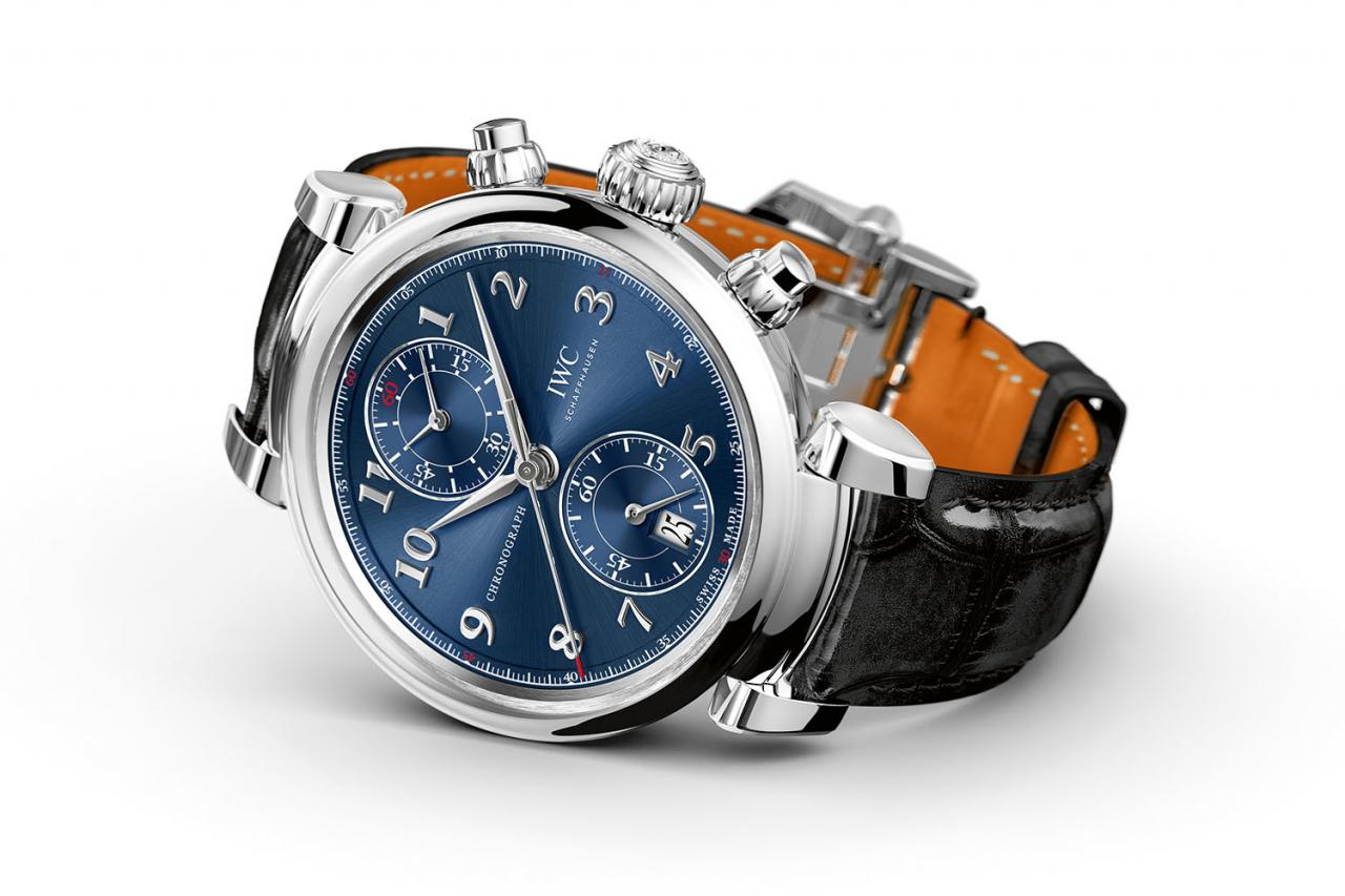 IWC Da Vinci Chronograph Laureus Sport for Good Foundation Limited Edition