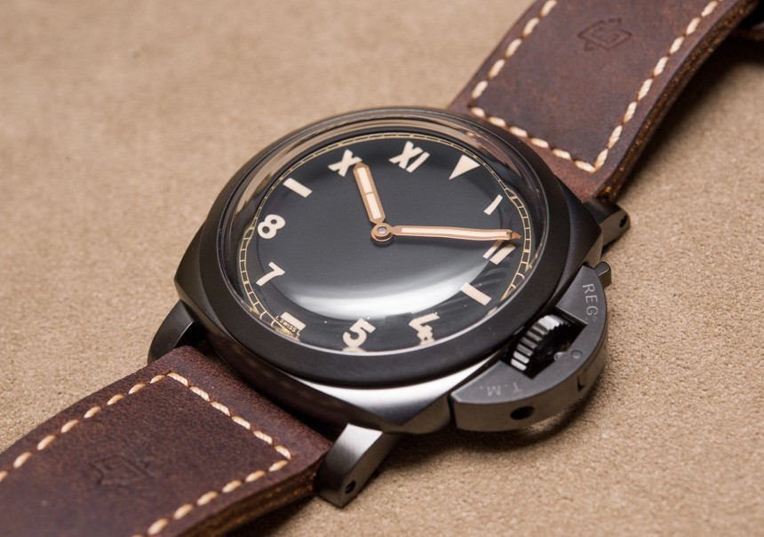 Panerai Luminor 1950 3 Days Titanio DLC PAM629 'California Dial' Watch Hands-On Hands-On