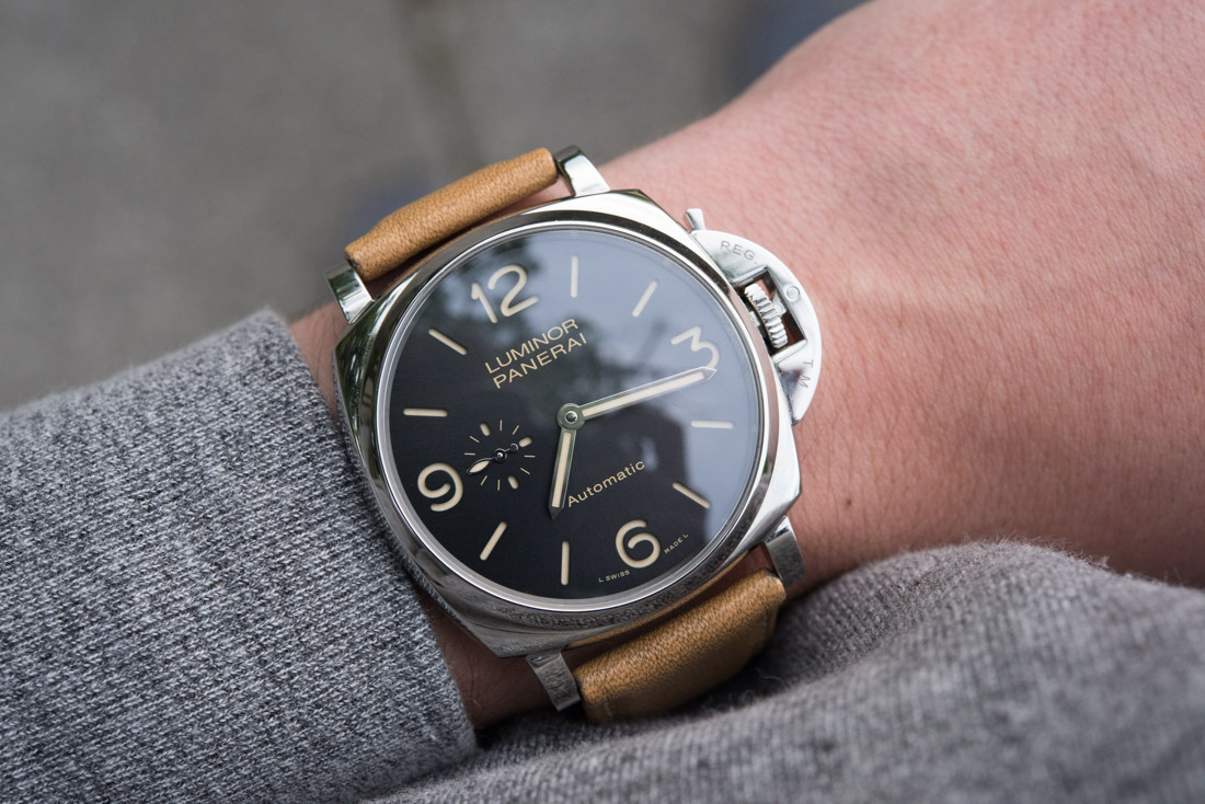 High End Panerai Luminor Due 3 Days Automatic Pam674 Watch Review