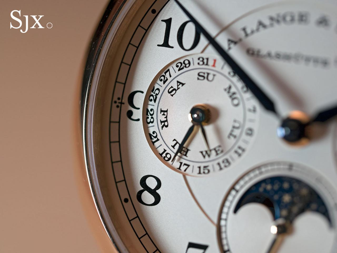 Lange 1815 Annual Calendar white gold 3