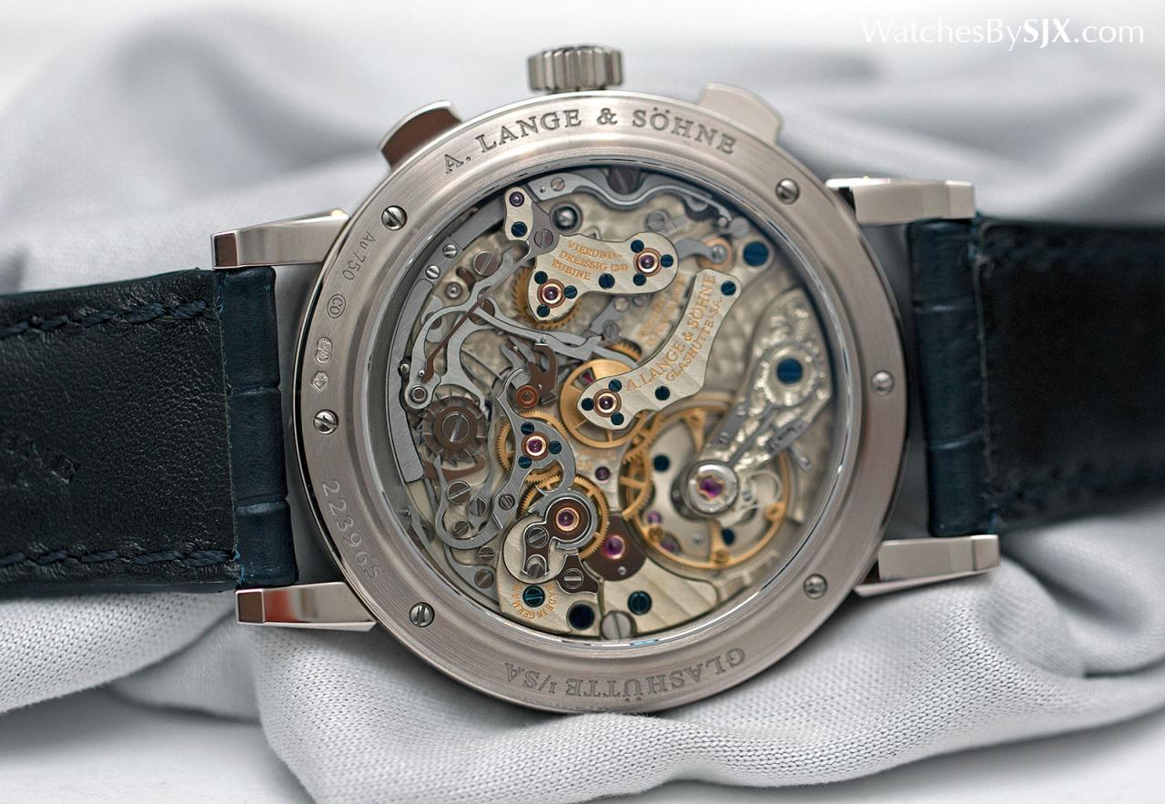 Lange 1815 Chronograph Boutique Edition Pulsometer 10