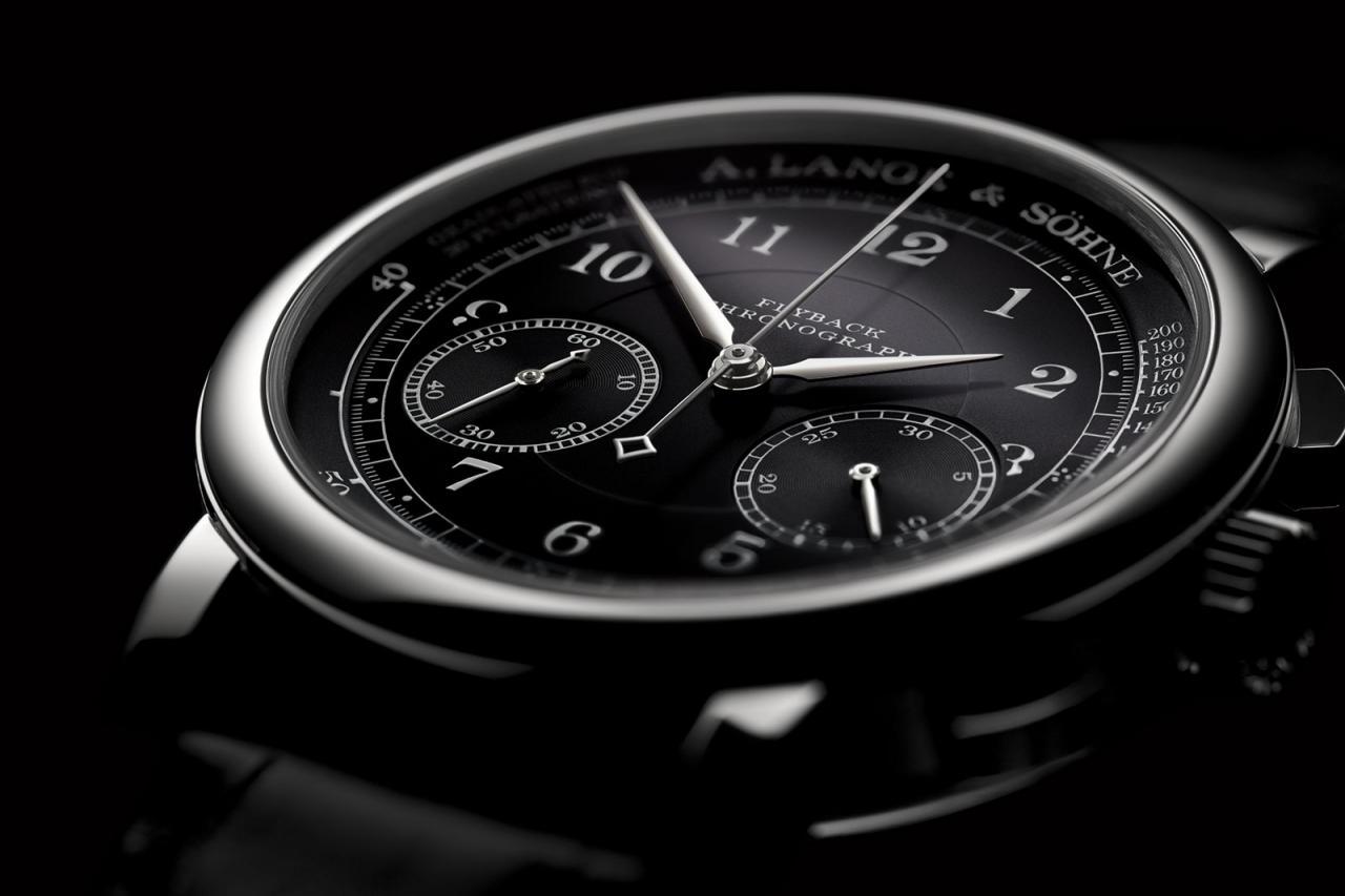 Lange 1815 Chronograph black dial 2