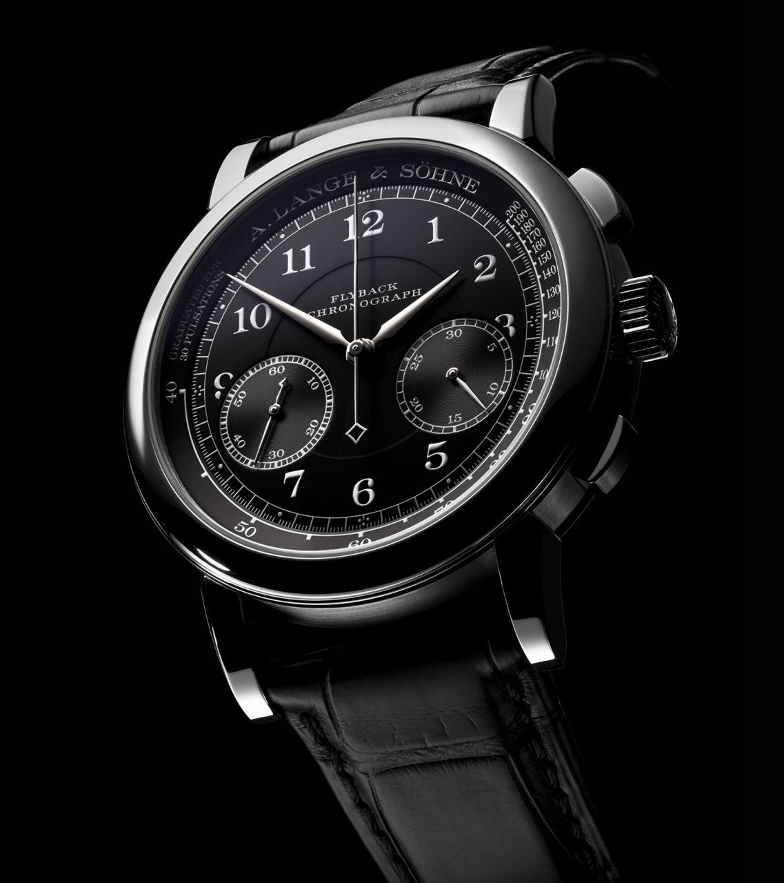 Lange 1815 Chronograph black dial 3
