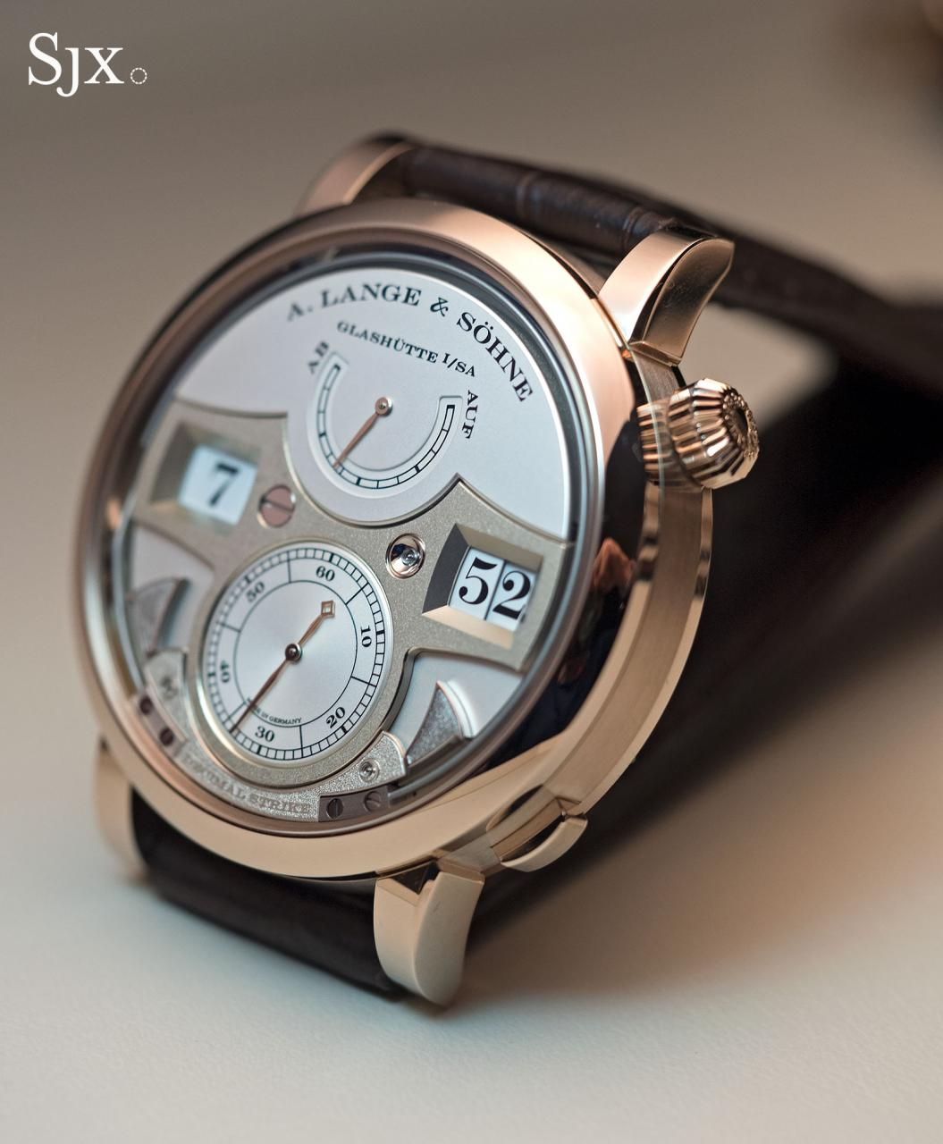 Lange Zeitwerk Decimal Strike Honey Gold 1