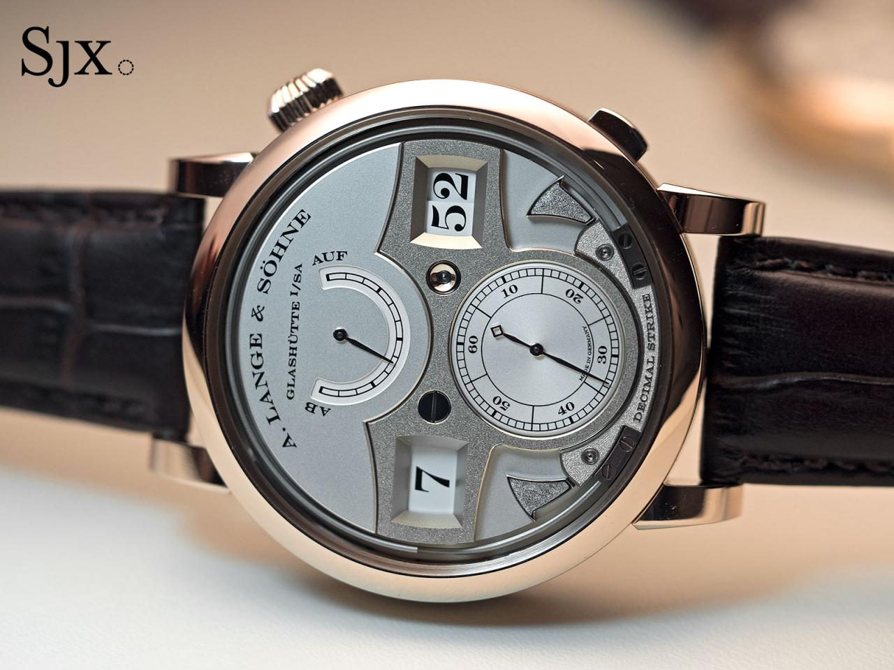 Lange Zeitwerk Decimal Strike Honey Gold 3