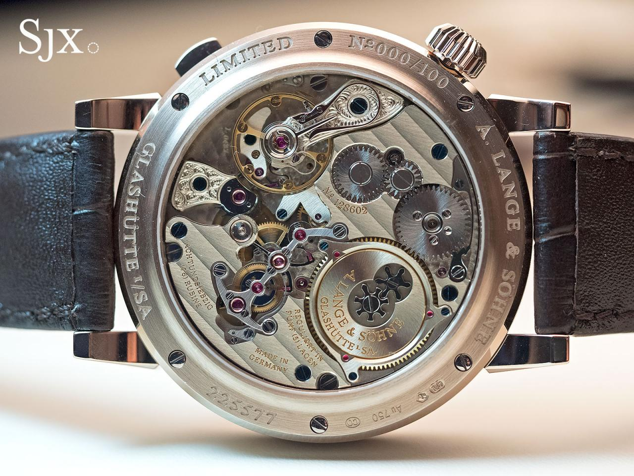 Lange Zeitwerk Decimal Strike Honey Gold 4