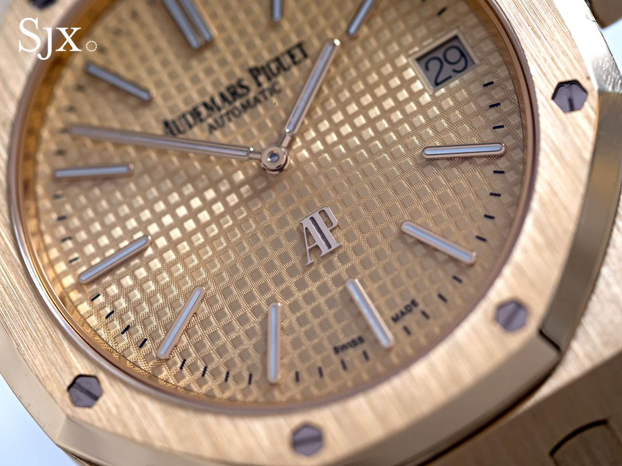 AP Royal Oak Extra Thin yellow gold 2