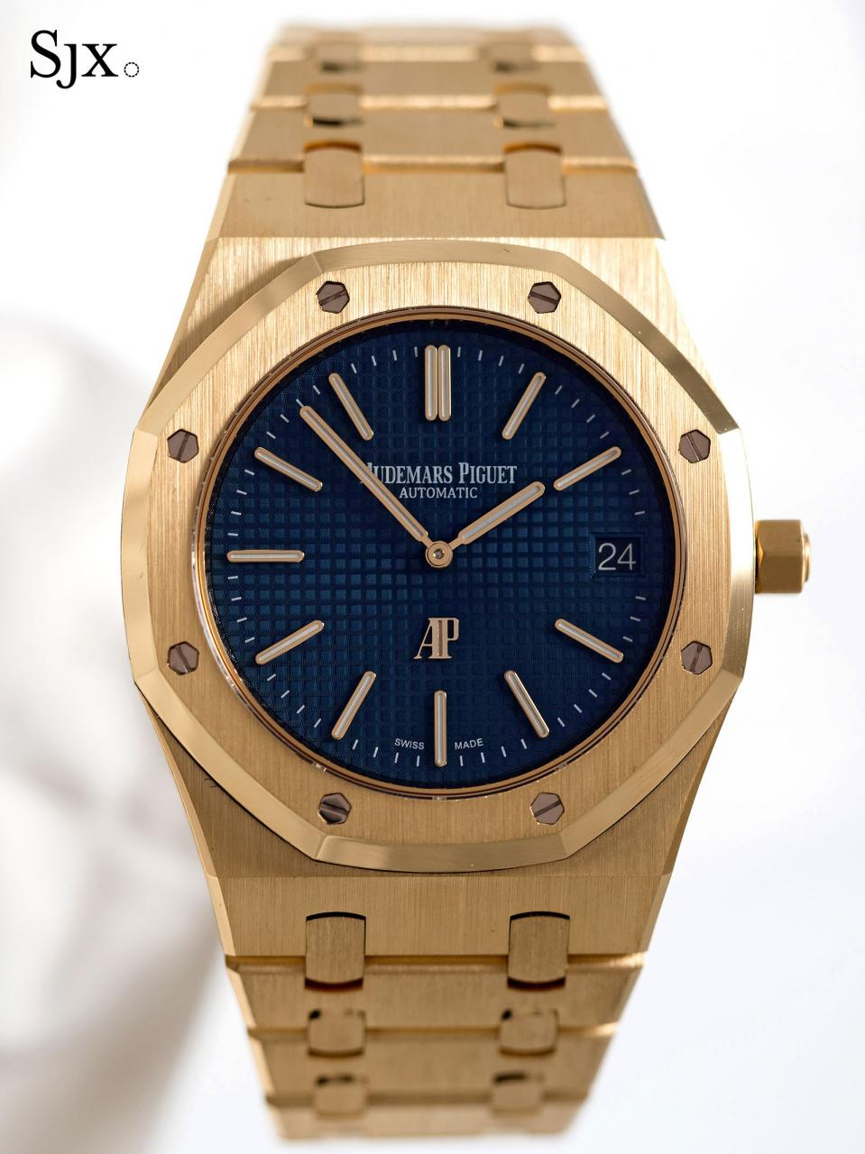 AP Royal Oak Extra Thin yellow gold