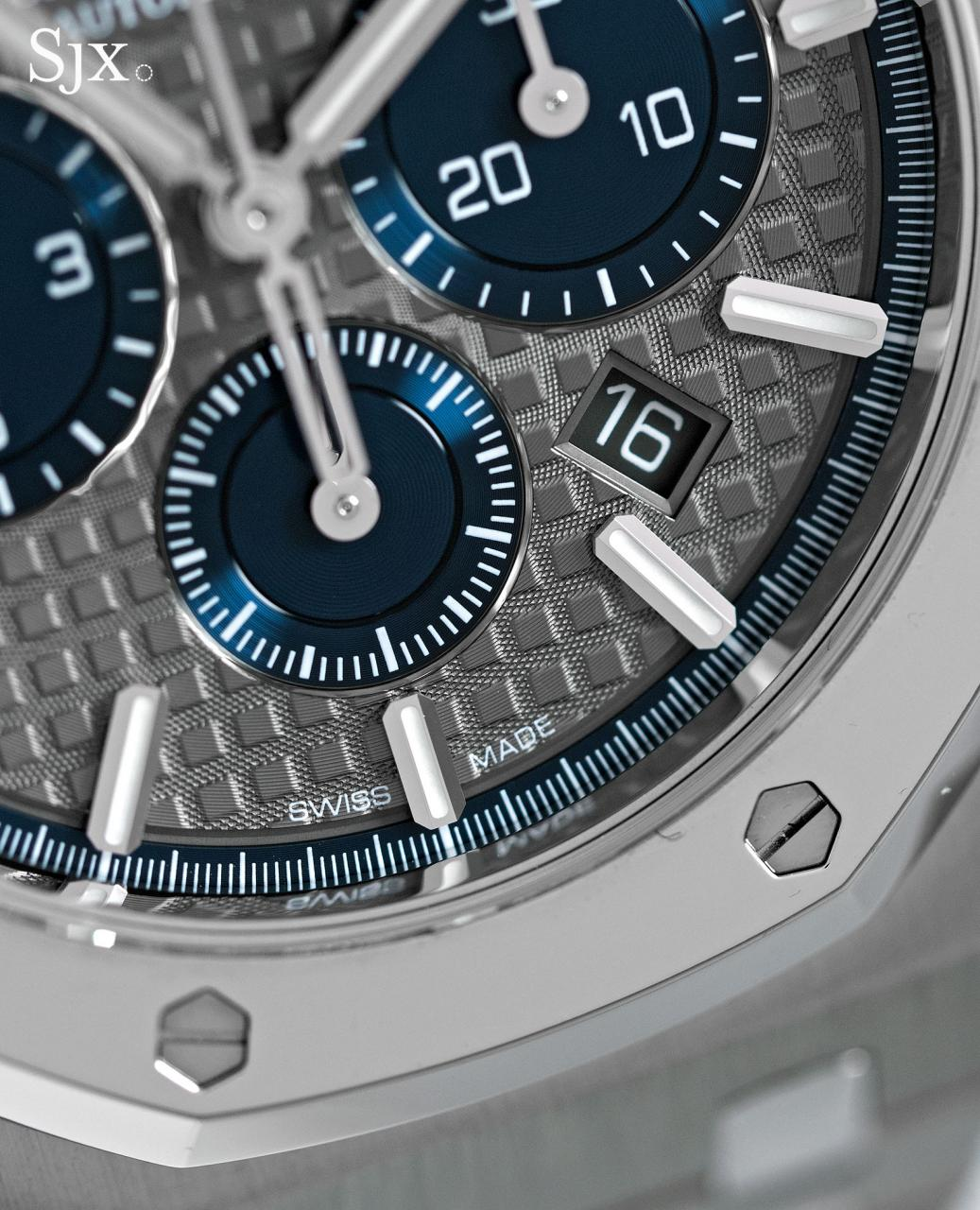 Audemars Piguet Royal Oak Chronograph Titanium Platinum 3