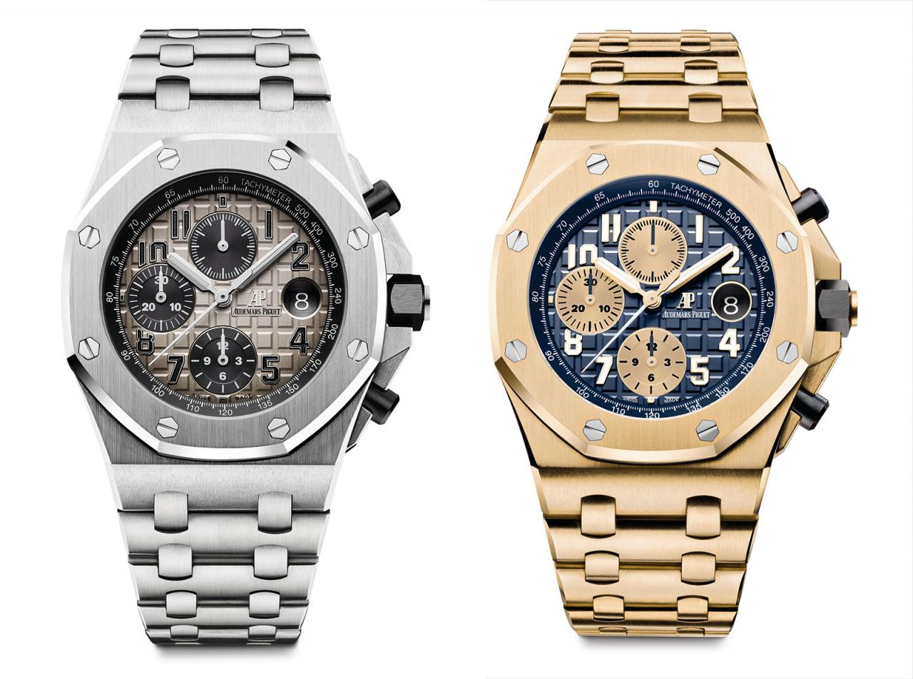 Audemars Piguet Royal Oak Offshore pink gold and platinum