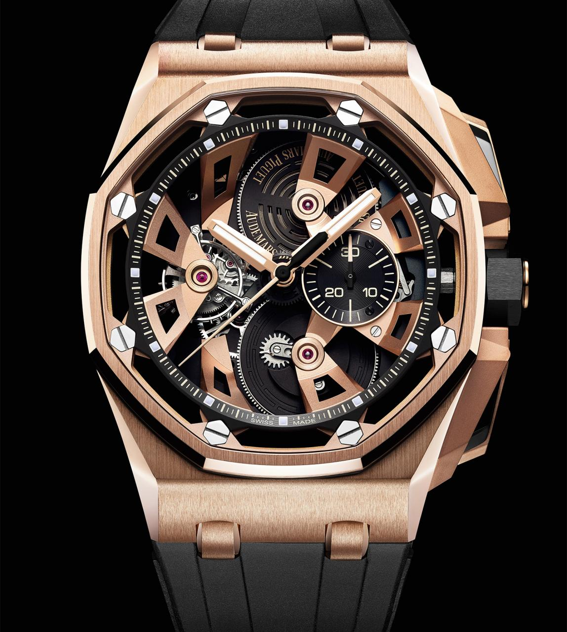 Royal Oak Offshore Tourbillon Chronograph 2