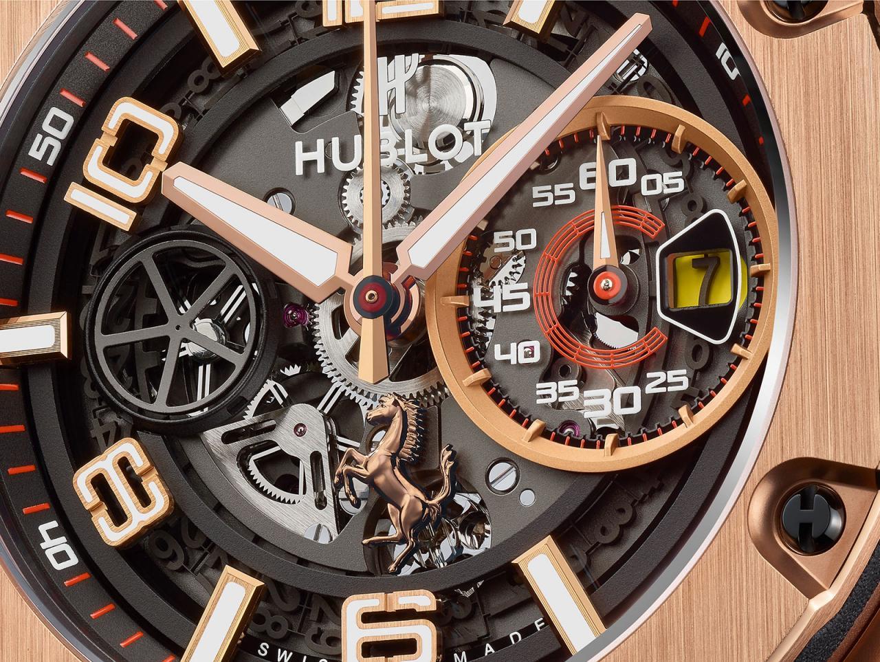 Hublot Big Bang Ferrari King Gold 2