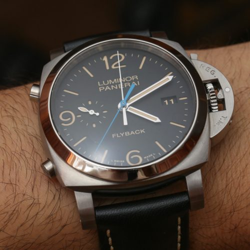 Panerai Luminor 1950 3 Days Chrono Flyback Automatic Acciaio PAM 524 Watch Hands-On Hands-On
