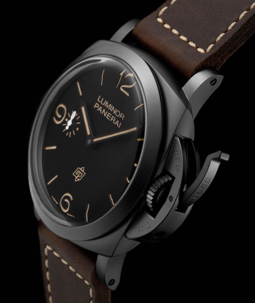 Panerai Luminor 1950 3 Days Titanio DLC Watch Watch Releases