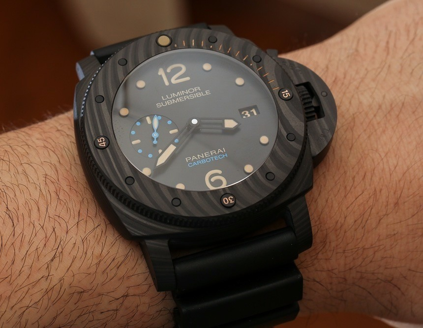 Panerai Luminor Submersible 1950 Carbotech 3 Days Automatic PAM616 Watch Hands-On Hands-On