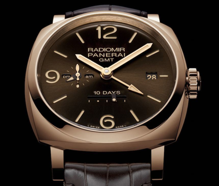 Panerai Radiomir 1940 10 Days GMT Automatic Oro Rosso Watch Watch Releases