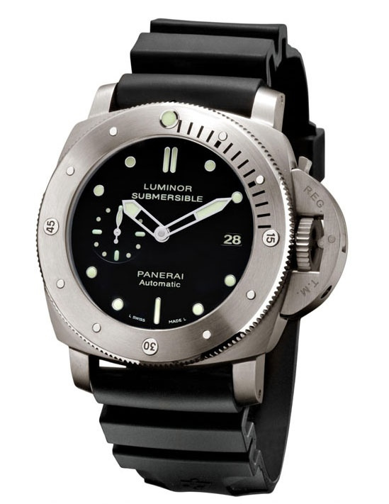 Panerai PAM305 Luminor Submersible 1950 Dive Watch Is Surprise Hit Watch Releases