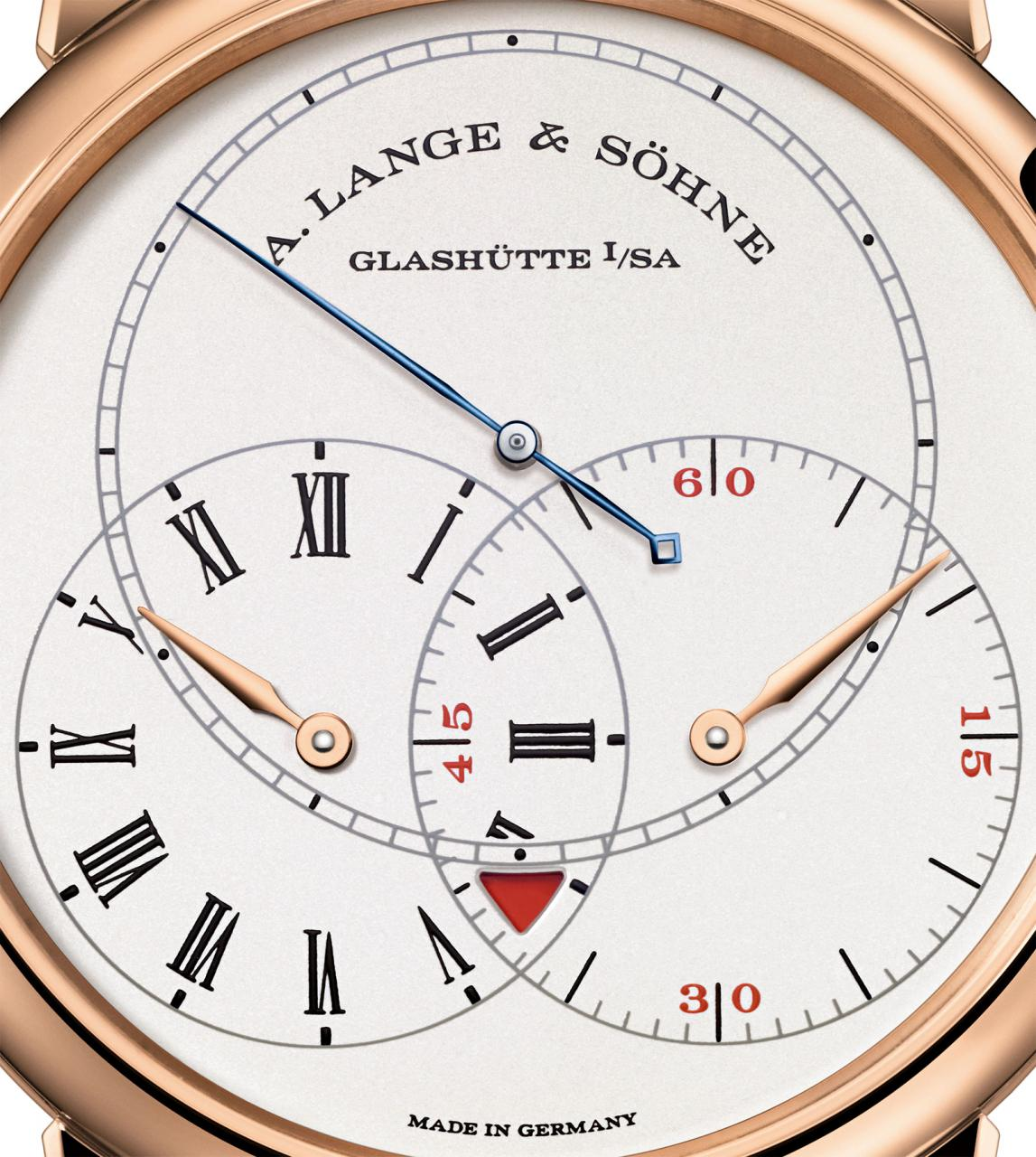 Richard Lange Jumping Seconds pink gold dial